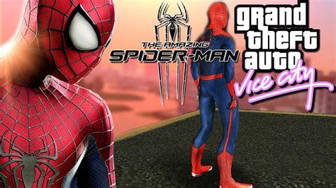 gta vice city spiderman mod game free download the amazing spider man mod gta vice city youtube