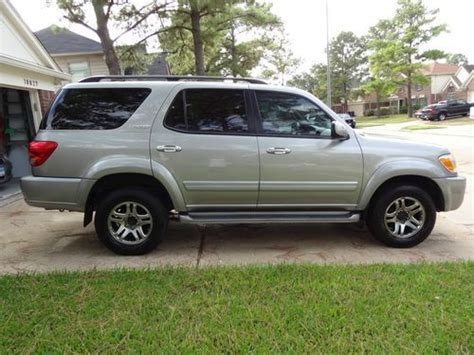 Toyota Sequoia 2005 Mpg Sell Used 2005 Toyota Sequoia Limited Sport Utility 4 Door
