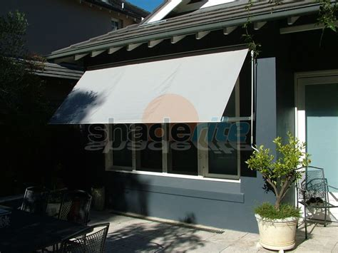 awnings and more drop arm awnings system 2000 robusta italia cassette