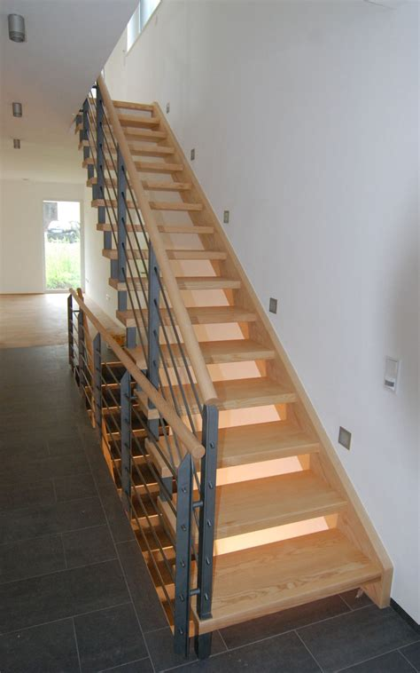 treppe modern schreinerei hansen treppen f 252 r jede situation