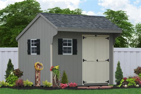 backyard wooden sheds  storage