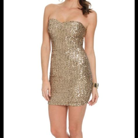 Be In With The New Arden B Dresses by 40 Arden B Dresses Skirts Gold Sequin Dress From