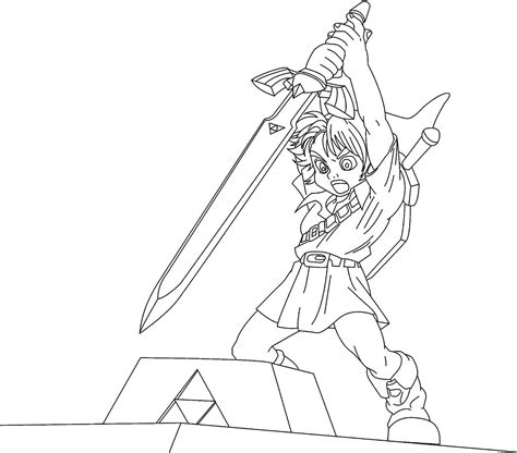 zelda coloring pages printable free printable zelda coloring pages for kids
