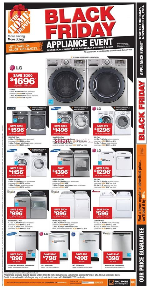 home depot black friday canada 2014 flyer sales and deals