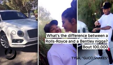 tyga bentley truck icymi tyga made a whole song about the bentley truck