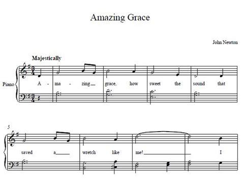 tutorial piano amazing grace amazing grace piano music amazing grace piano sheet
