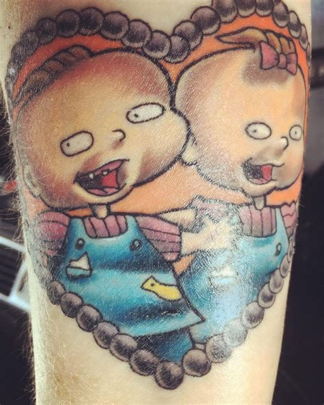 rugrats tattoo 100 nickelodeon tattoos pictures to magical