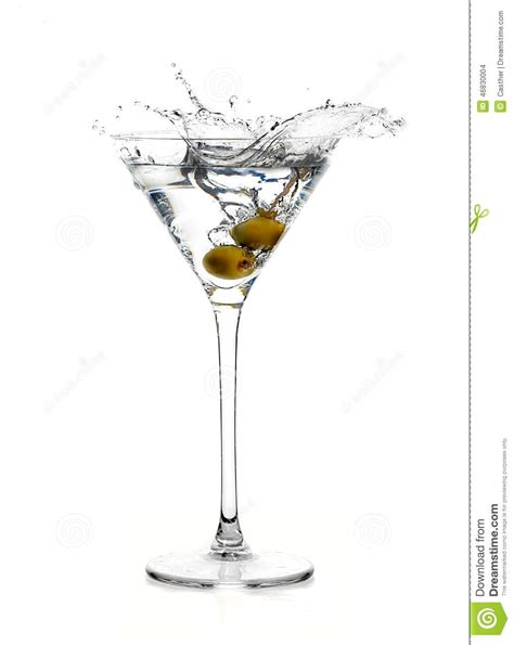 birthday martini white background dry martini cocktail splash stock photo image 46830004