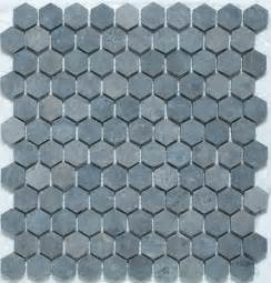 hexagon mosaic tiles traditional wall and floor tile