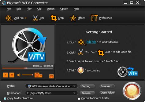 how to convert wtv to mp4 or any other video formats wtv converter fast convert wtv file to any video like mp4