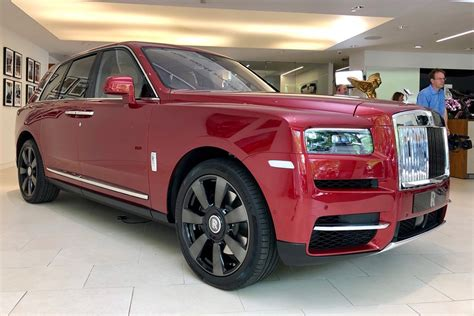 roll royce jeep rolls royce cullinan suv revealed auto express