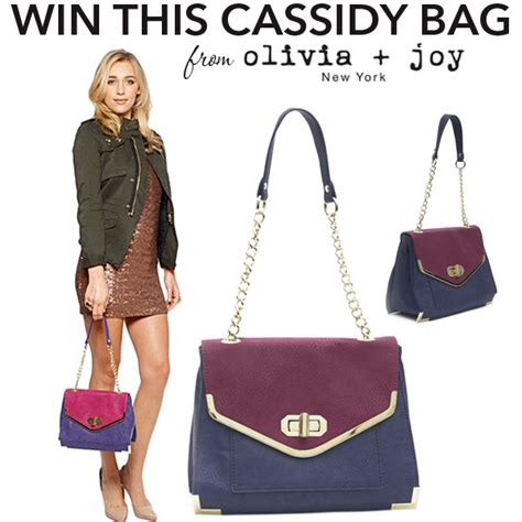 Giveaways Joy - olivia joy cassidy bag giveaway closed whatever is lovely