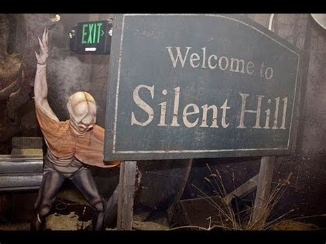 horror house walkthrough welcome to silent hill halloween horror nights 22 full haunted house walkthrough