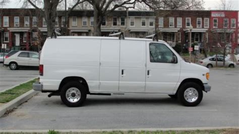 buy   ford   cargo van powerstroke  turbo diesel   econoline