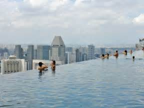 Can You Fall An Infinity Pool Marina Bay Sands Infinity Pool In Singapore Business Insider