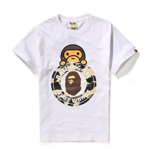 Stussy Kaos Tshirt Stussy X A Bathing Ape 1 a bathing ape shirt t shirts design concept