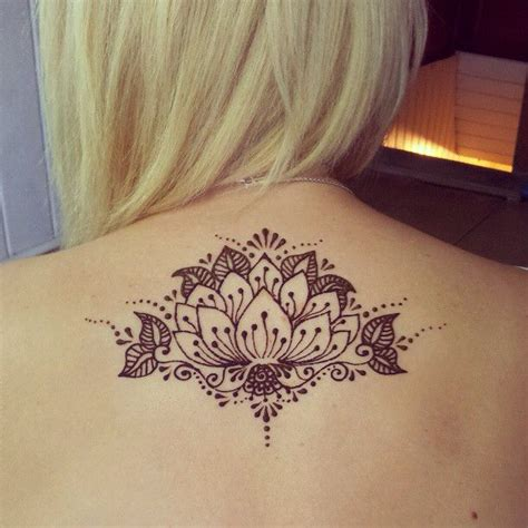 henna tattoo down back 17 best ideas about lotus henna on simple