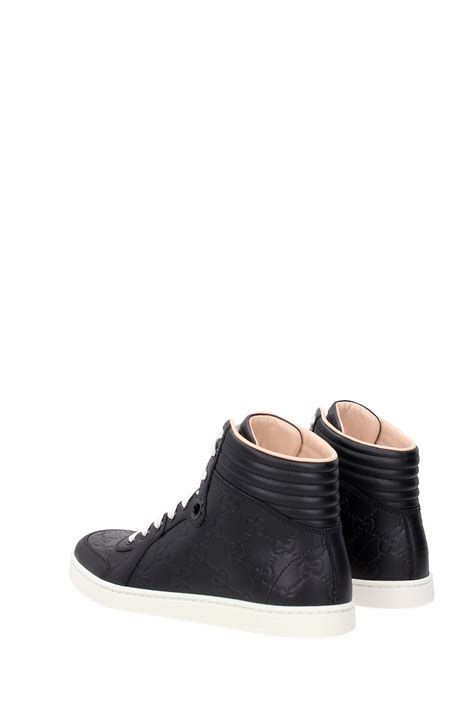 Gucci Sneakers List Black sneakers gucci leather black 409793cwd201000