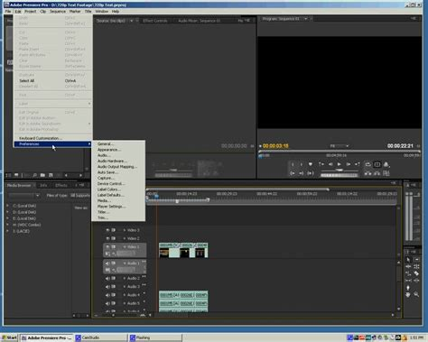 tutorial adobe premiere for beginner adobe premiere cs4 tutorial for beginners derrecodom s diary