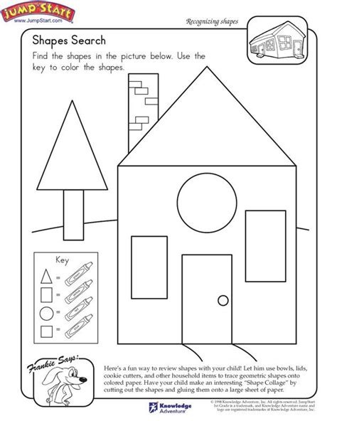 printable house shapes pictures house shapes printable coloring page for kids