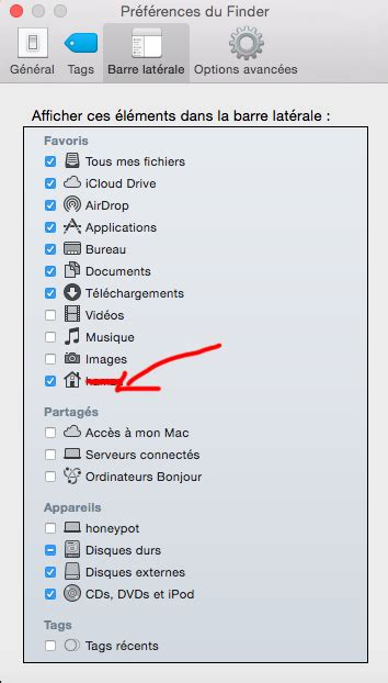 macos how to view home directory with finder ask different