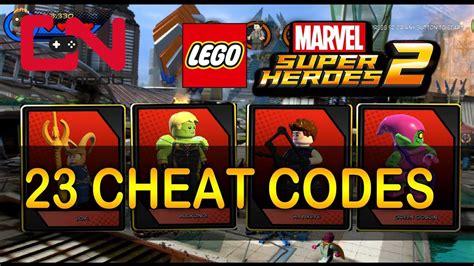 lego marvel boat unlock lego marvel super heroes 2 all 23 cheat codes showcase