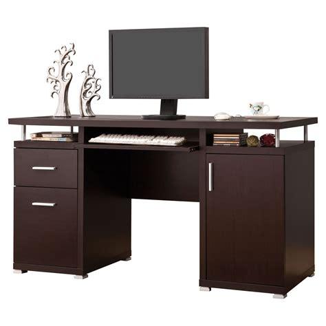 brayden studio 2 drawer computer desk reviews wayfair