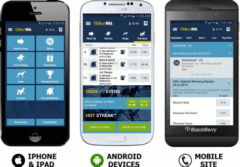 william hill not mobile william hill mobile app for android iphone