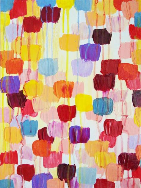 5 Polka Dots Styling Ideas To Be Dotty About by Original Dotty Abstract Acrylic Painting Polka Dot Free