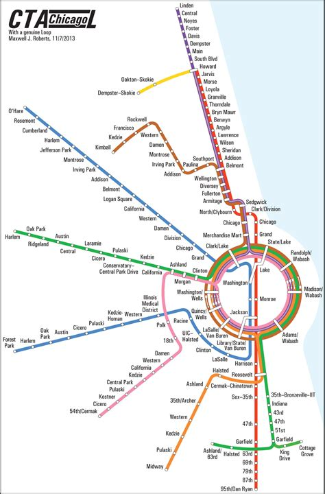 cta loop map cta map inspired by frank lloyd wright design 171 cbs chicago