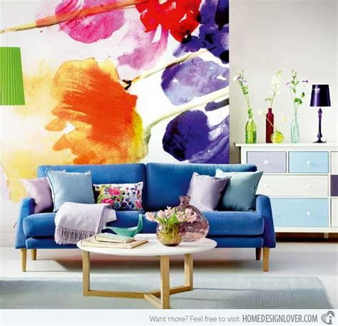 12 Floral Inspired Things To Own by Inspiring Living Room Designs Decozilla