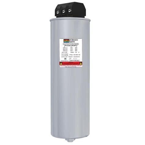 power factor correction capacitor protection dorman smith power quality correction
