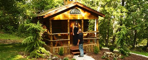 Log Cabin Wedding Chapel by Log Chapel Of The Ozarks