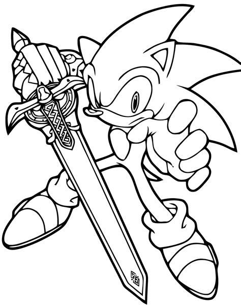 Coloriages Sonic 1 Coloriage Sonic Le H 233 Risson