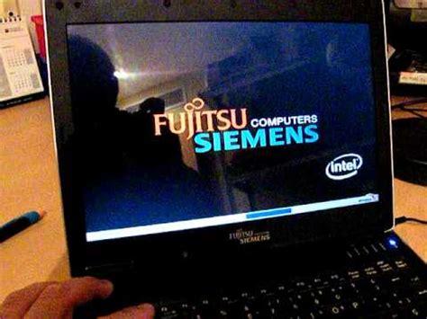 reset bios fujitsu desktop fujitsu siemens amilo si 1520 youtube