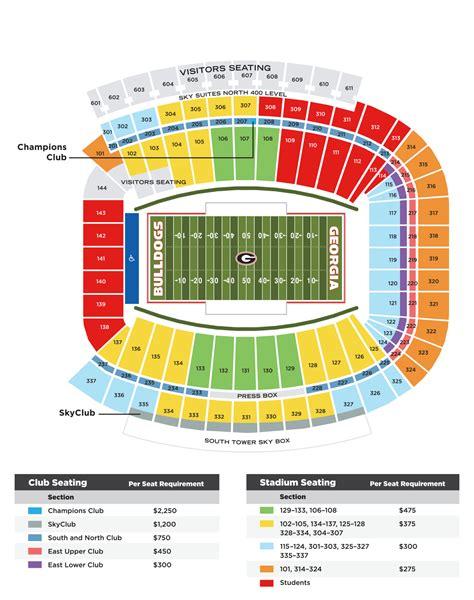 Stadium Seating wchf sanford stadium seating the bulldog club
