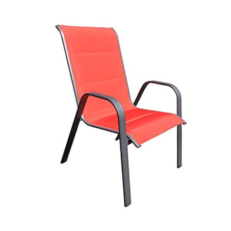 Oversized Patio Chairs Wilson Fisher 174 Oversized Padded Stack Chair Big Lots