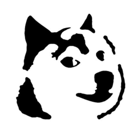 Meme Pumpkin Stencil - doge stencil free stencil gallery