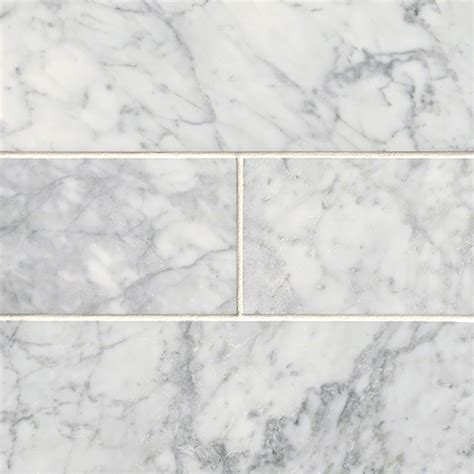 arabescato white carrara 4 quot x 12 quot subway honed marble tile