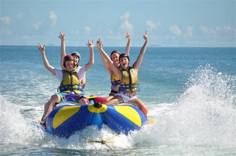 banana boat ride safe banana boat rides in panama city beach florida