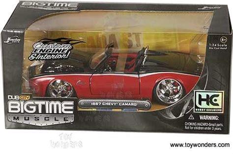 1967 chevy camaro convertible by jada toys dub city