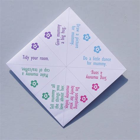 Origami Fortune Teller Sayings - fortune teller origami sayings image collections craft