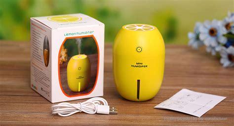 Lemon Mini Portable Humidifier Usb 180ml 10 23 lemon styled portable usb mini humidifier led light air purifier 180ml tank