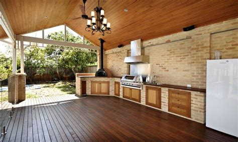 outdoor inspiration outdoor kitchens landscaped lawn