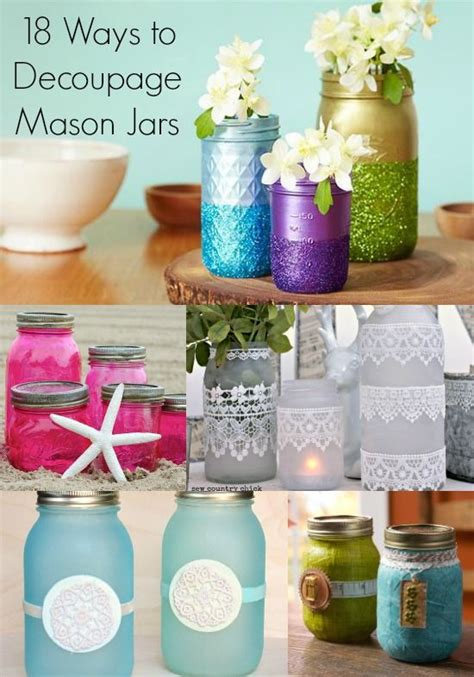 How To Make Decoupage Waterproof - 17 best ideas about decoupage jars on