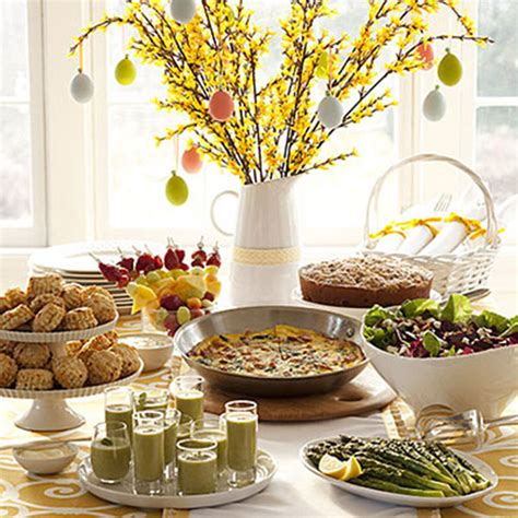 Easter Brunch Tables B Lovely Events Easter Breakfast Buffet