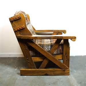 Black Hanging Chair Western Wagon Lounge Chair Vintage Solid Wood Wagon Wheel