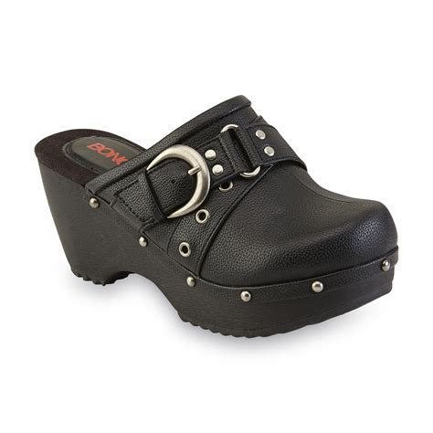 black clogs for womens leather clogs kmart