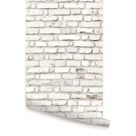 white brick self adhesive wallpaper by the binary box the 25 best white brick wallpaper ideas on pinterest