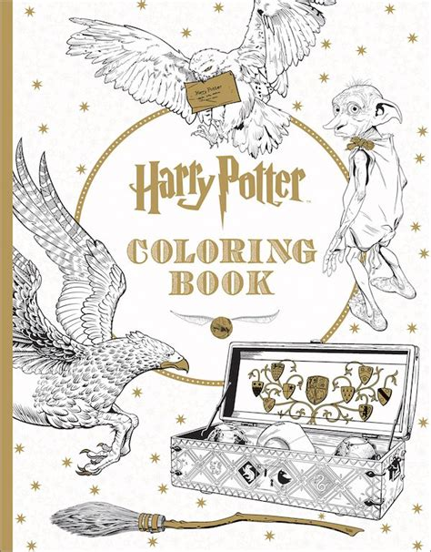 Awesome Harry Potter Coloring Book Filled With Your
